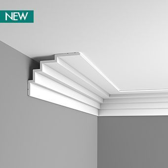 large stepped coving designs