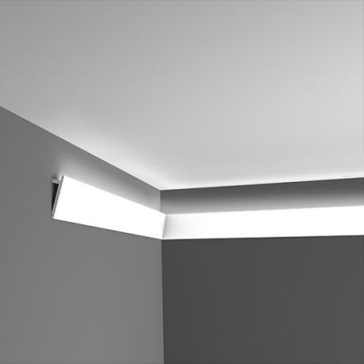 angled uplighting coving