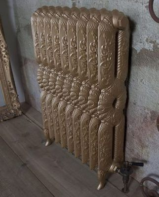 Carron ornate cast iron radiator