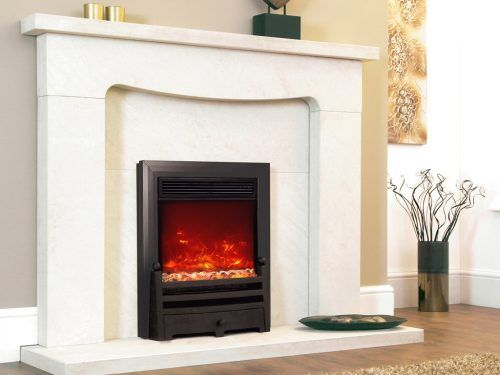 Electric Fires Amp Surrounds Glasgow Inset Wall Mounted Amp Coal Effect