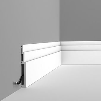 SX181 Contemporary stepped skirting board