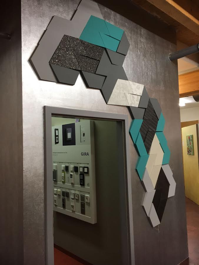 Orac W100 Trapezium 3d Wall Panel Wm Boyle Interior