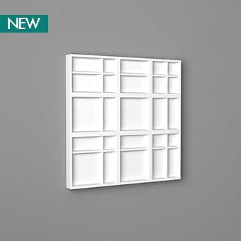 Geometric 3D wall panels