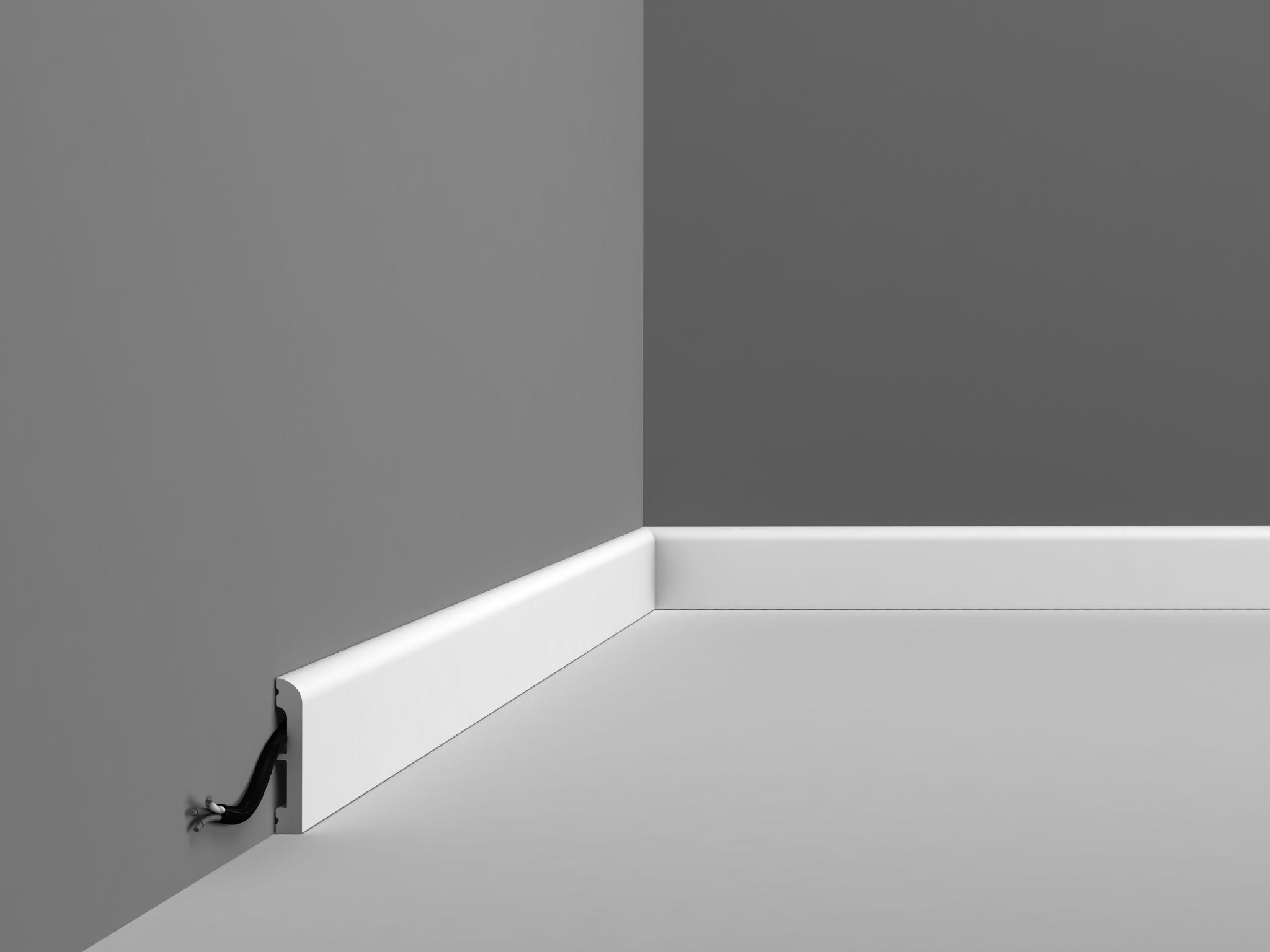 SX183 Plain Contemporary Skirting - Wm Boyle Interior Finishes