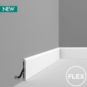 DX184 modern skirting board