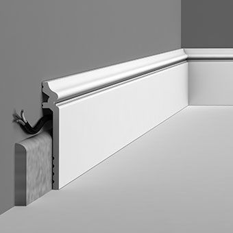 SX186 Ogee skirting cover