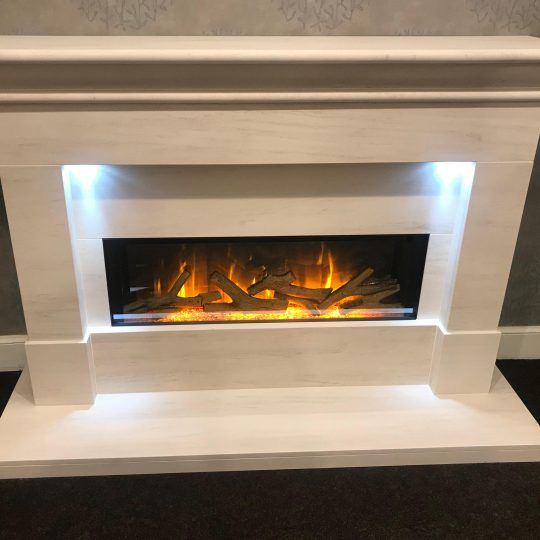 Limestone fireplaces Glasgow