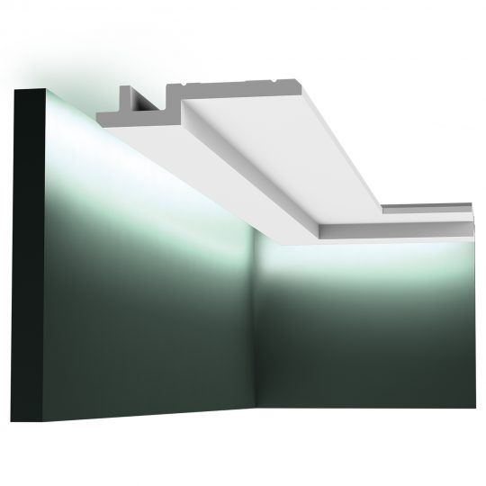 C395 stepped Downlighting coving