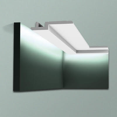 Orac C395 stepped LED coving