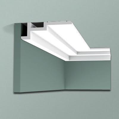 Orac C396 modern stepped coving