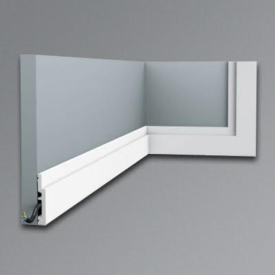 Orac SX187 stepped skirting board