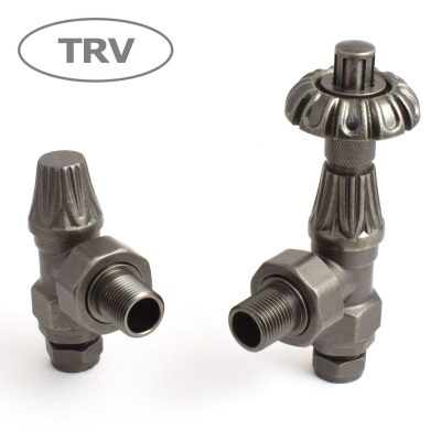 Abbey thermostatic valve - Old English Brass
