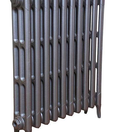 Beaumont Victorian 3 column cast iron radiator (2)
