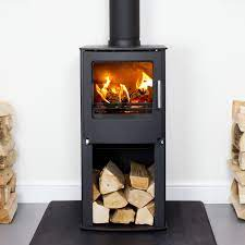Westfire One stove with logstore
